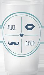 gobelet Mariage Alice & David