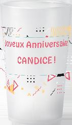 gobelet Anniversaire Adulte Candice