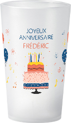 gobelet Anniversaire Adulte Frederic