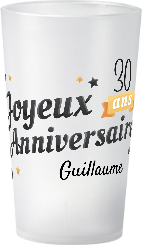 gobelet Anniversaire Adulte Guillaume