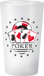gobelet Soiree a theme Poker