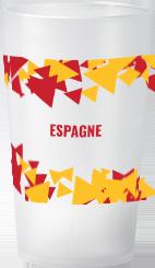 gobelet Tendance Euro 2021 Espagne