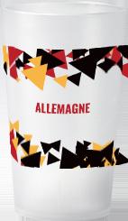 gobelet Tendance Euro 2021 Allemagne