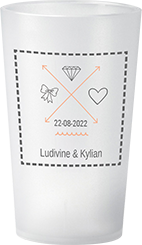 gobelet Mariage Ludivine & Kylian