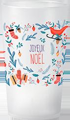 gobelet Noël Traineau