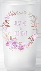 gobelet Mariage Justine & Clément