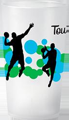 gobelet Clubs & Asso Sport HandBall Coloré